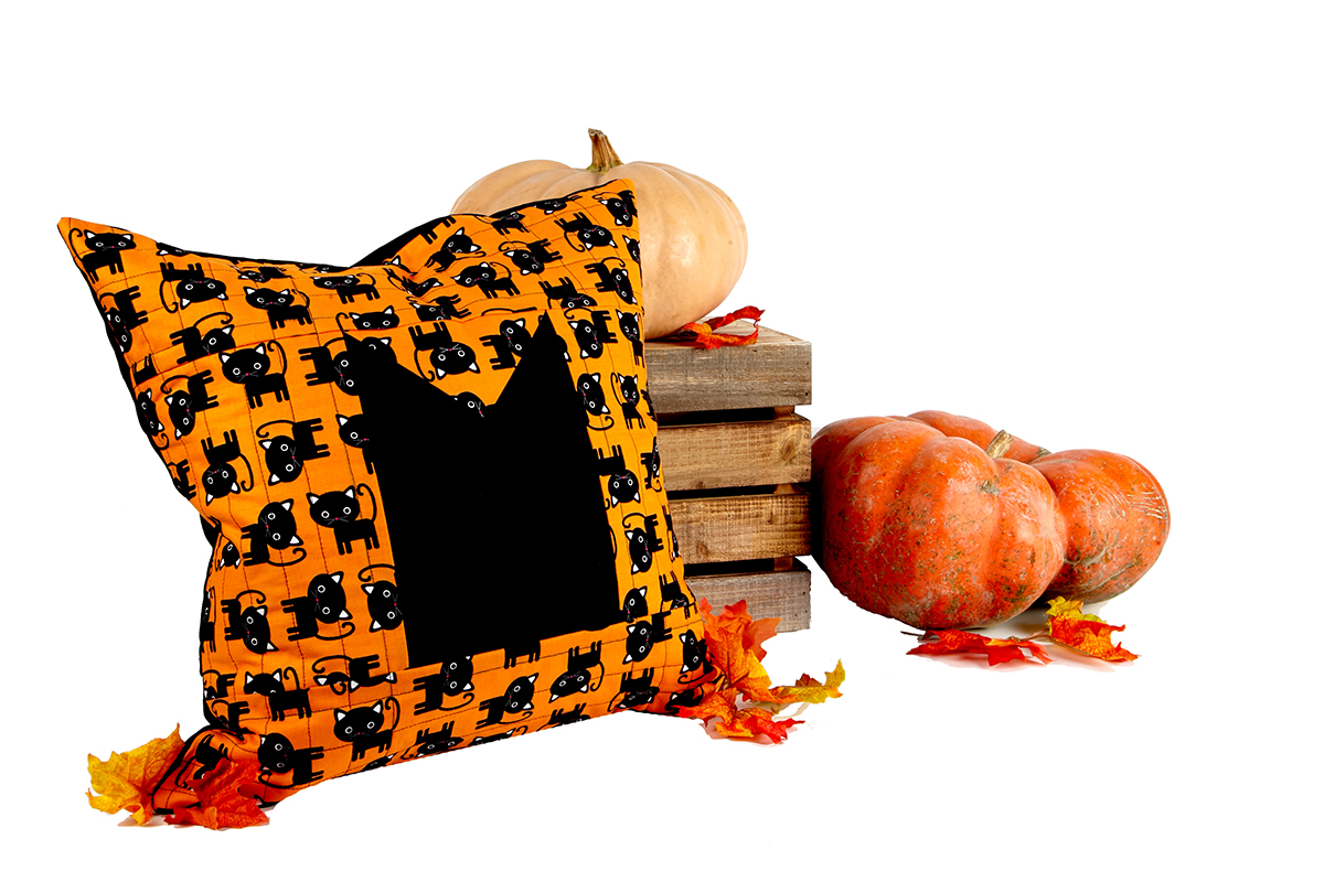 Halloween Pillow with Envelope Closure