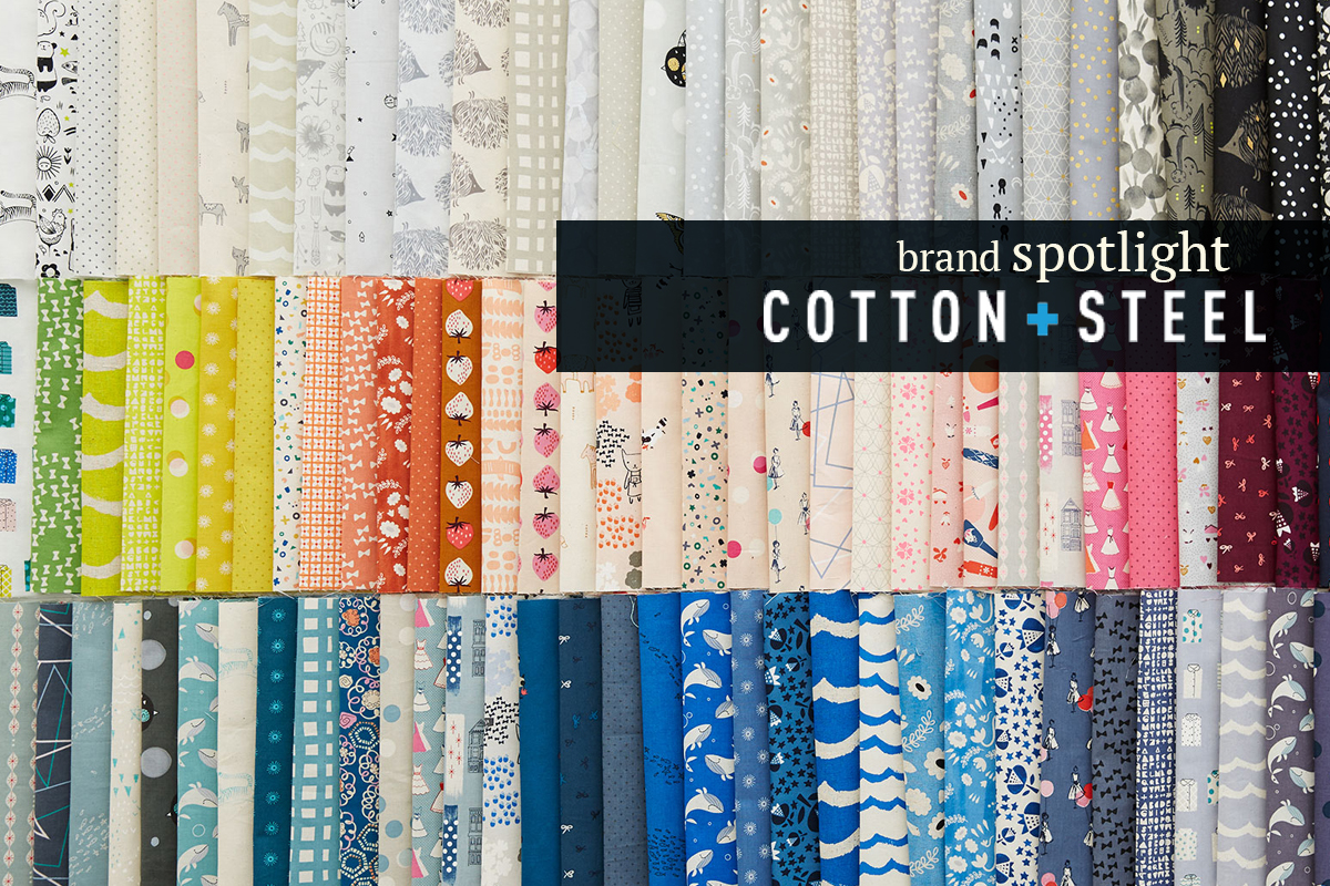 Brand Spotlight: Cotton + Steel