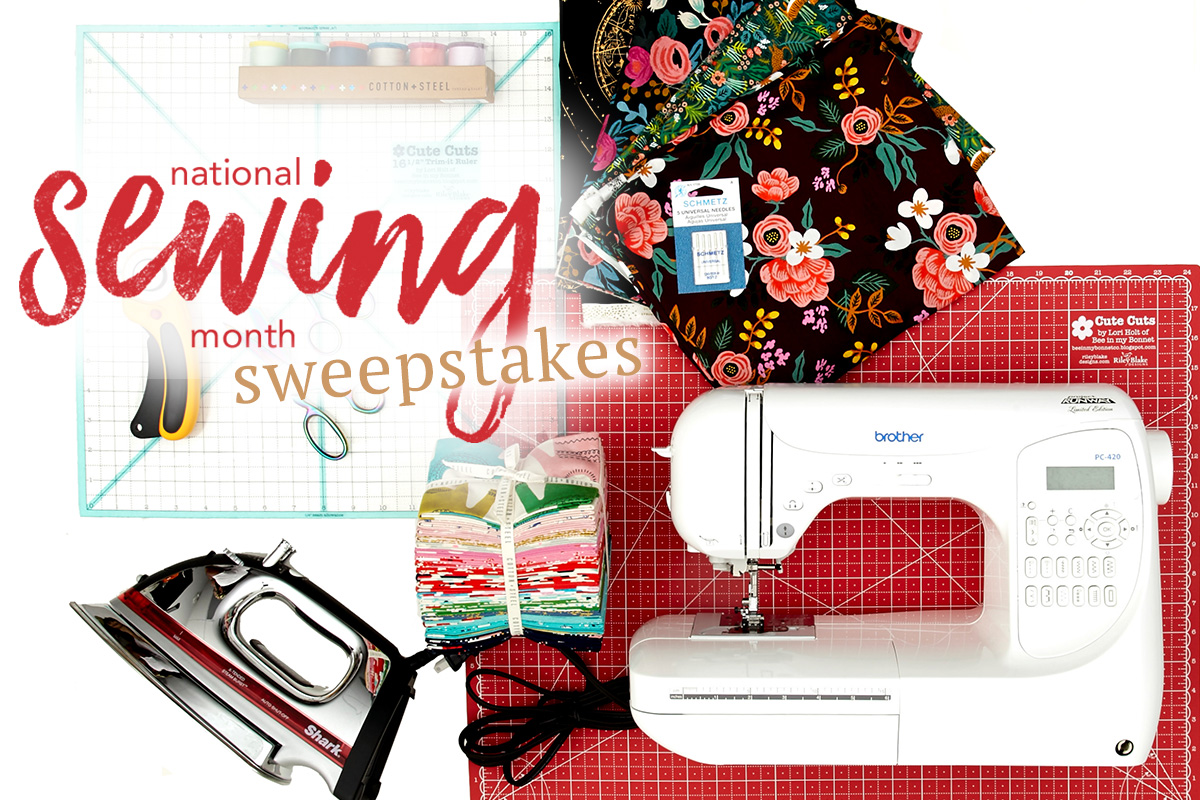 National Sewing Month Sweepstakes!