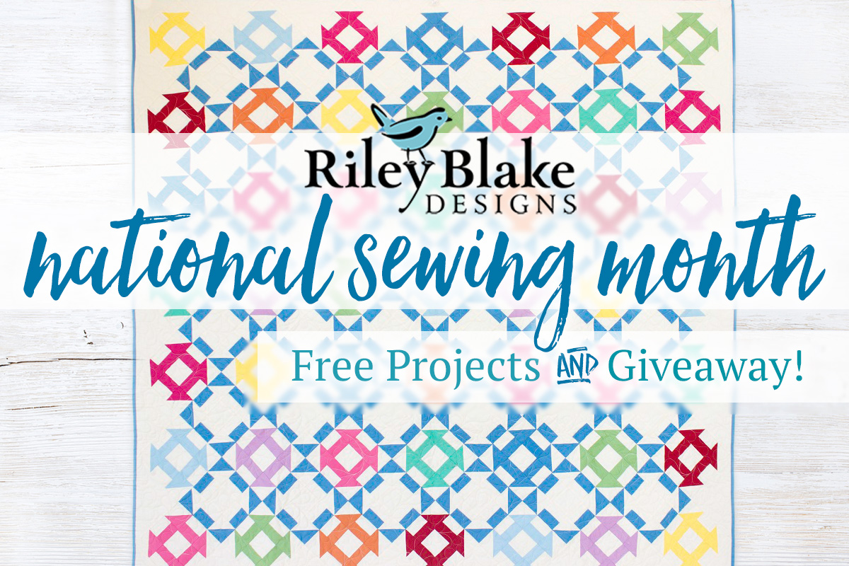 Riley Blake Free Projects & Giveaway
