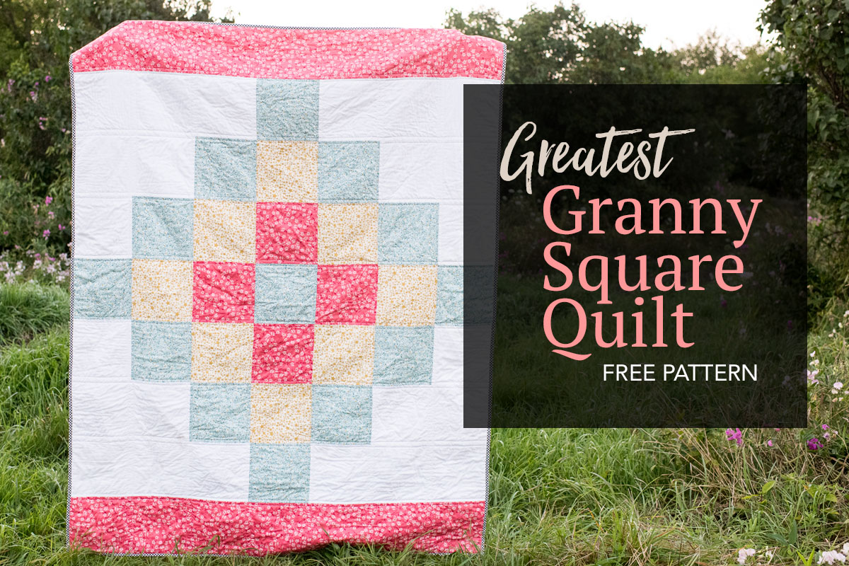 Greatest Granny Square Quilt Free Pattern The Greatest Granny