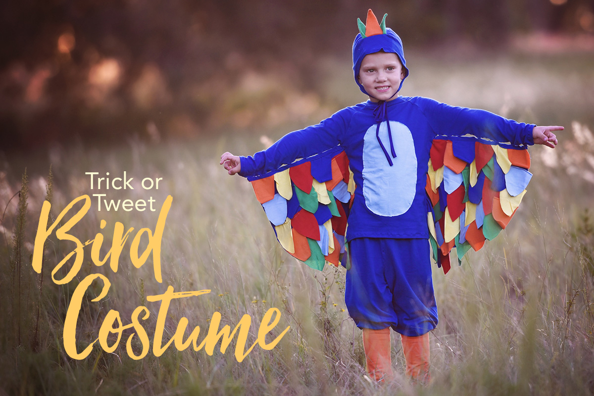 Trick or Tweet Bird Costume