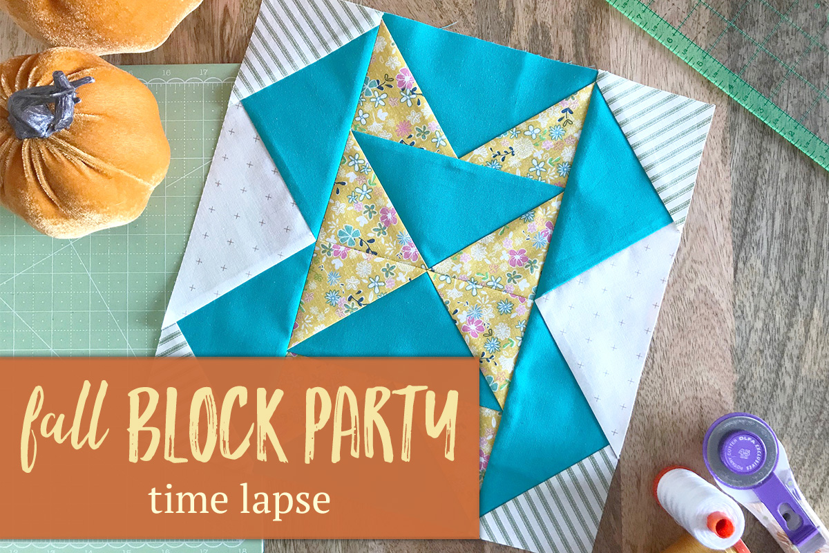 Fall Block Party: Time Lapse