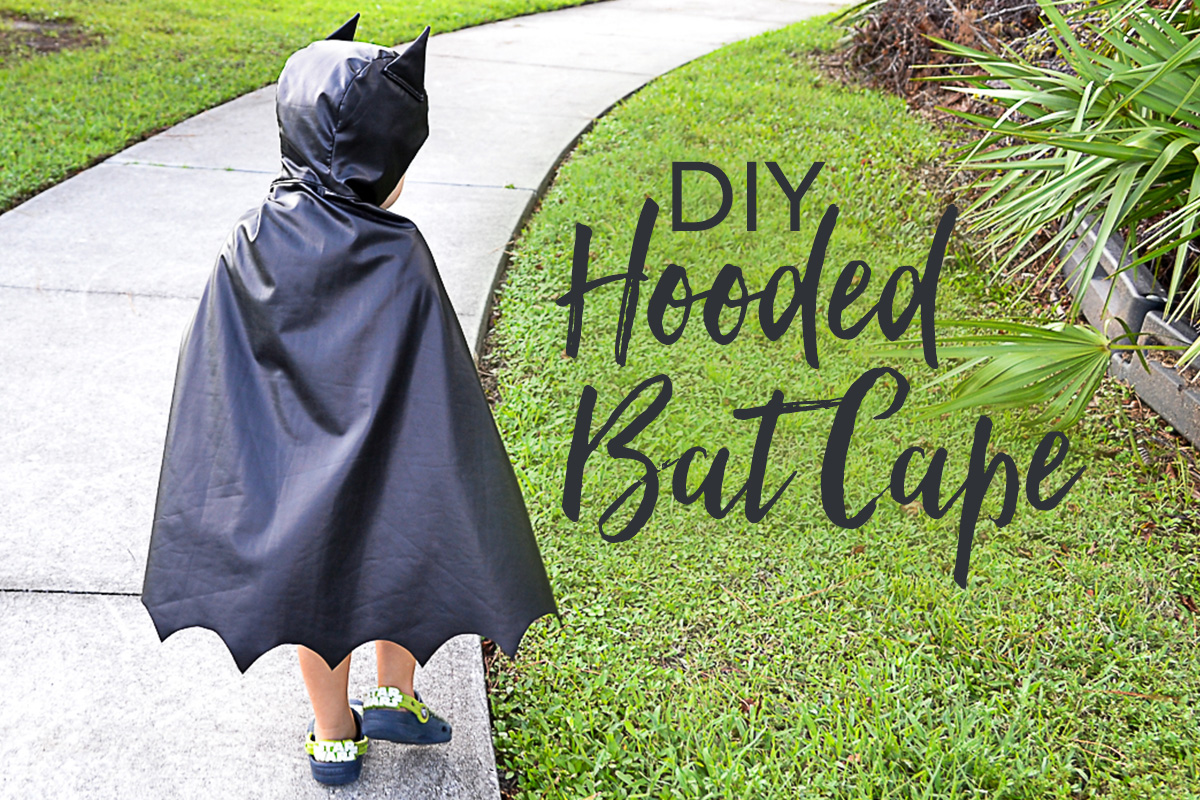 DIY Hooded Bat Cape