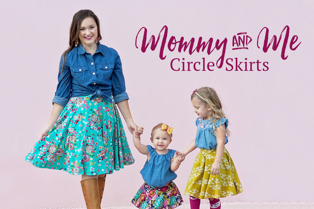 Mommy & Me Circle Skirts