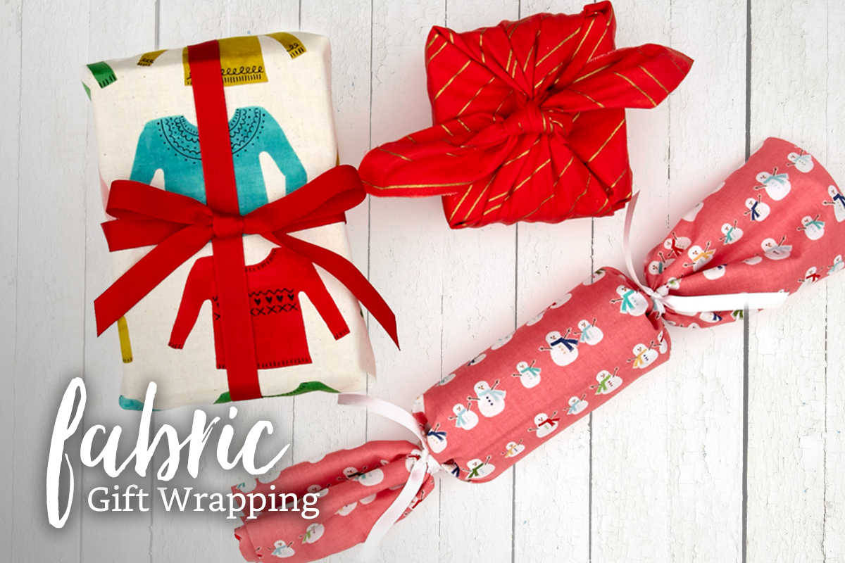 3 Ways to Wrap Gifts in Fabric