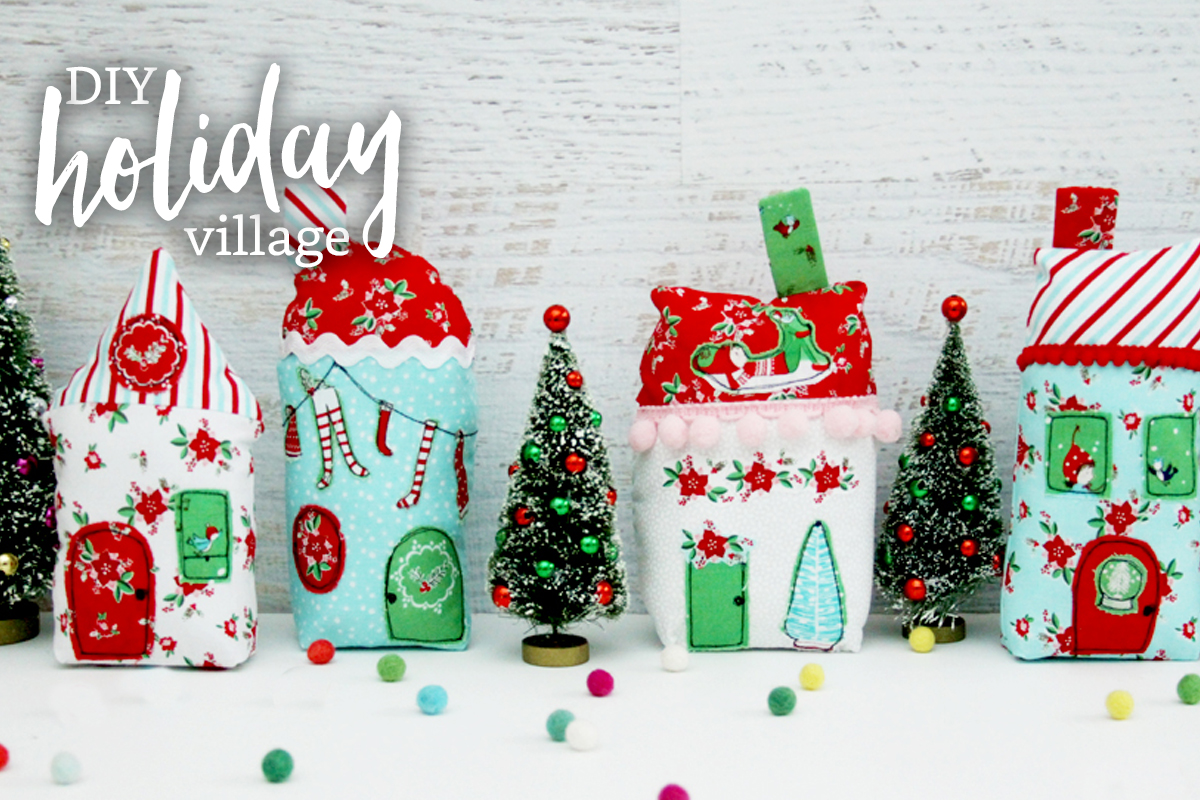 DIY Holiday Village