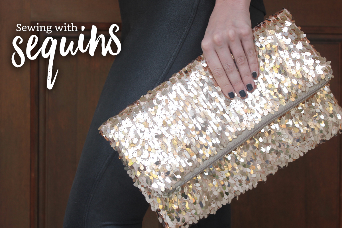 Sewing 101: Sewing with Sequins