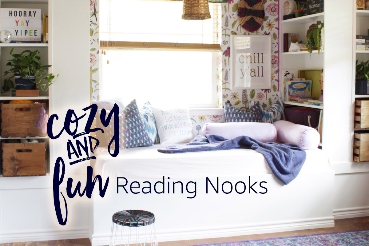 16 Ways to Create a Reading Nook That's so Cozy, You'll Wish for ColdWeather pictures