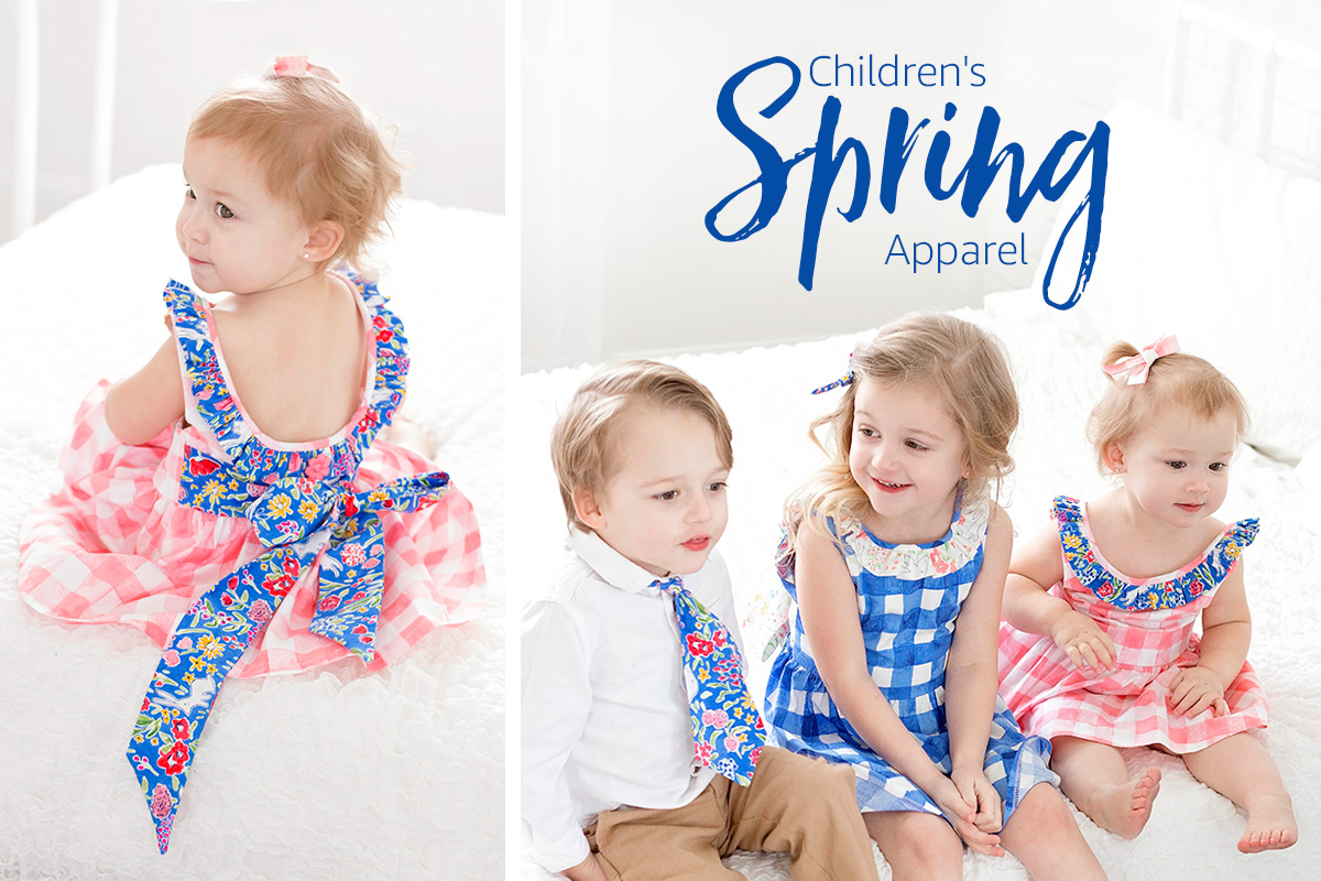 Children's Spring Apparel DIYs