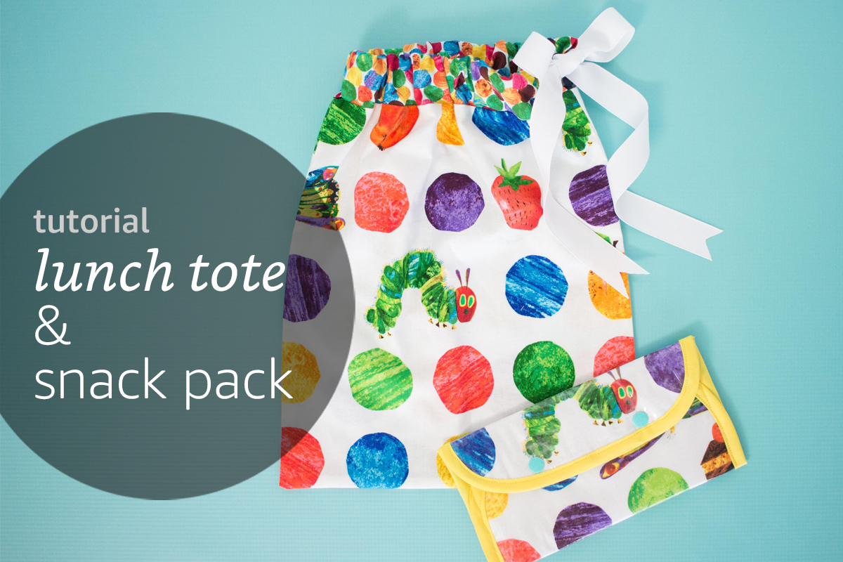 Snack Pack and Lunch Tote Tutorial