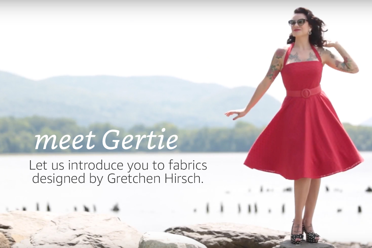 "Meet Gretchen ""Gertie"" Hirsch - International Sewing Starlet"