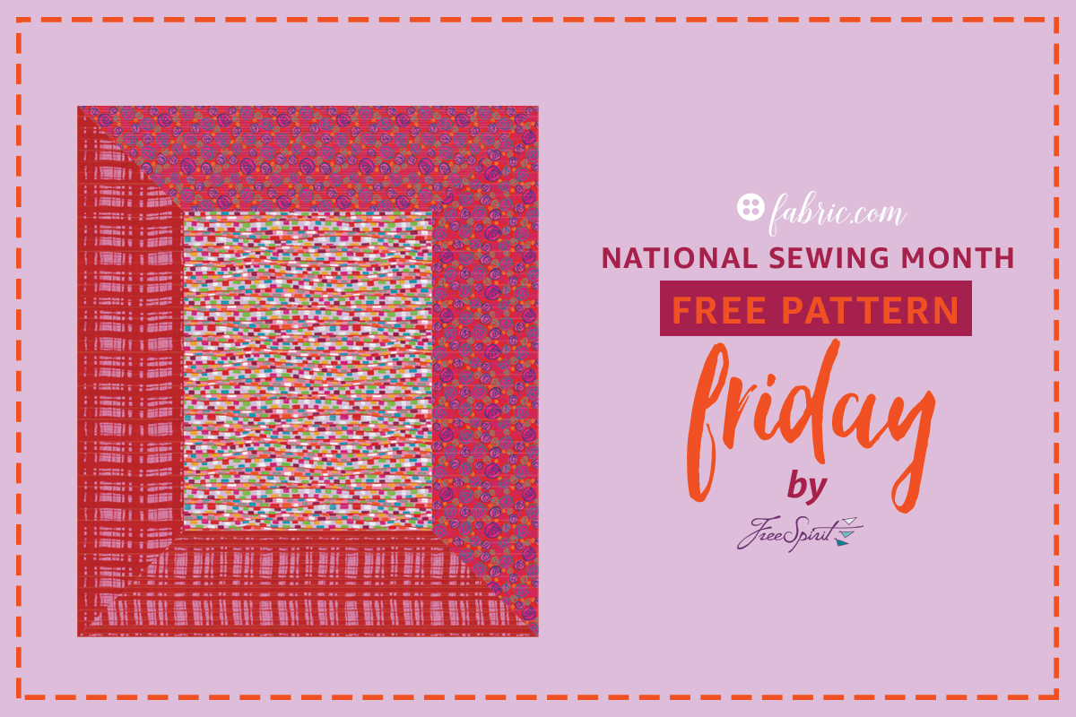 National Sewing Month: Free Pattern Friday! Week 3
