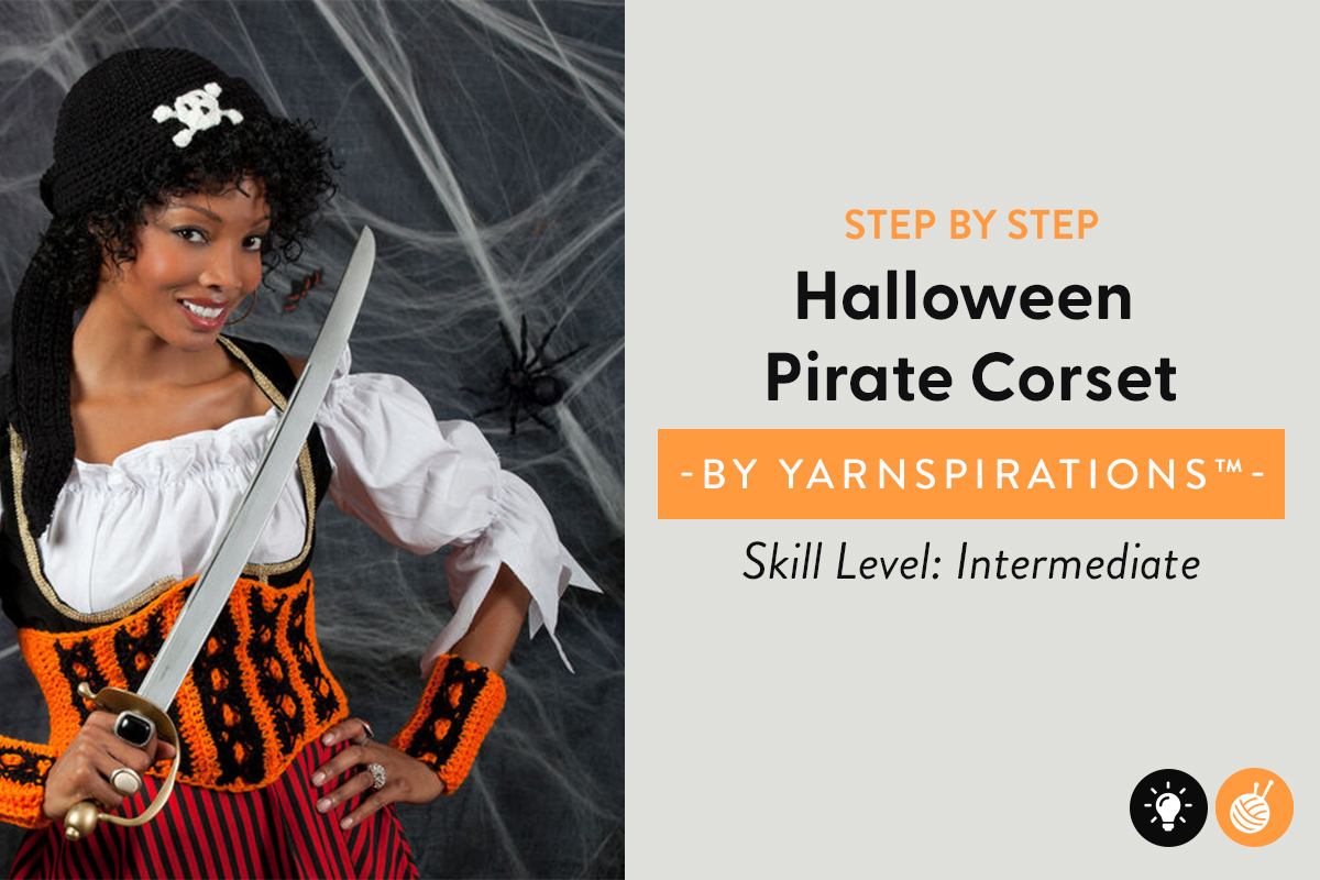 Halloween Pirate Corset Pattern