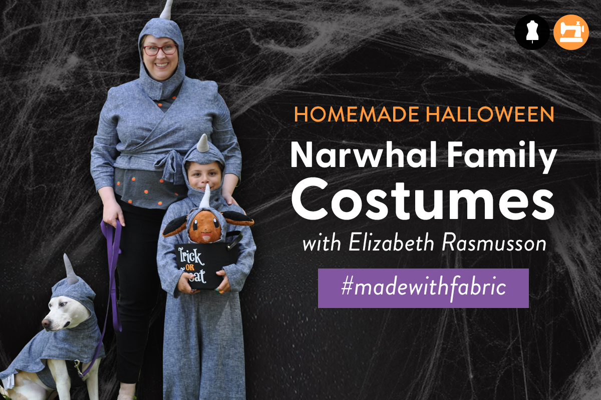 Narwhal Family Costumes Tutorial